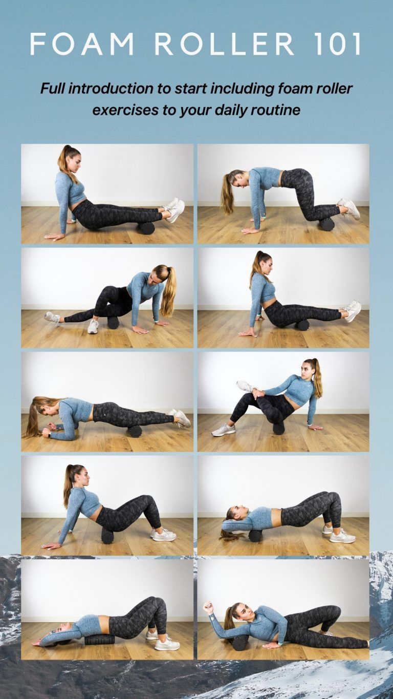 Bloomlous Feeling Your Gym Membership Is Useless Without A Personal Trainer Try A Fully Interactive Guided Foam Roller Exercises Foam Roller Roller Workout