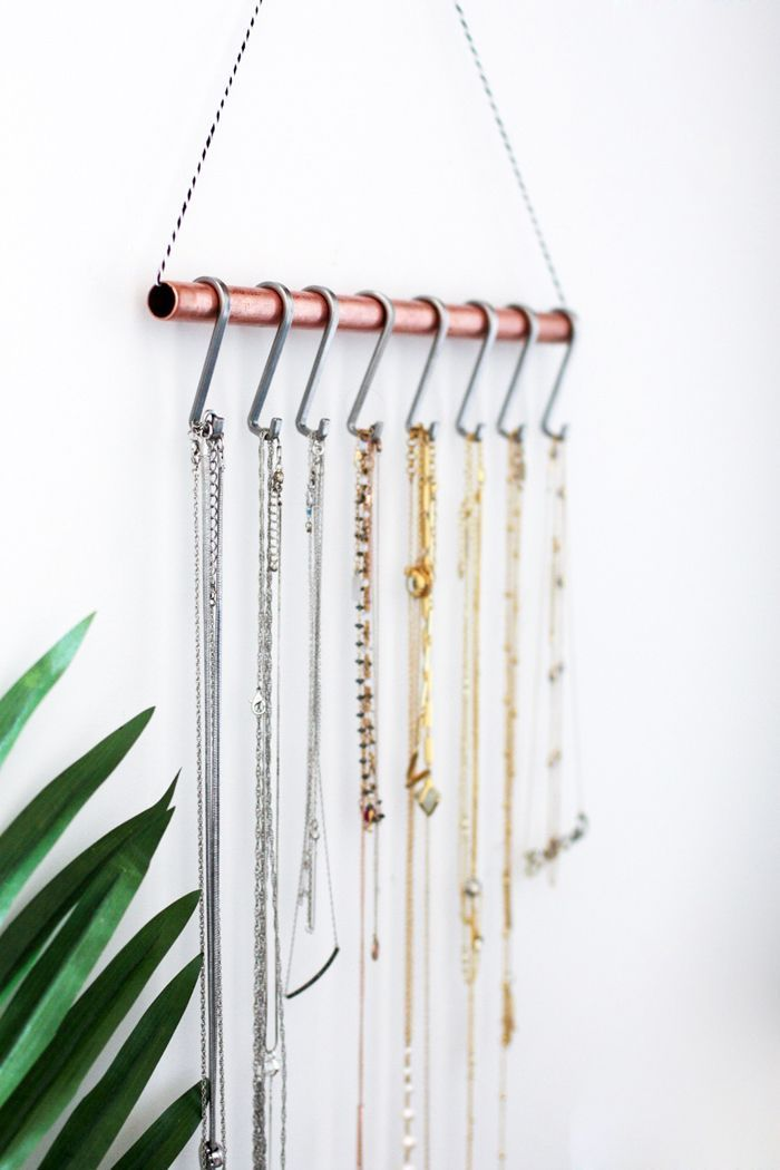 Diy Necklace Holder For The Minimalist Fashionlush Diy