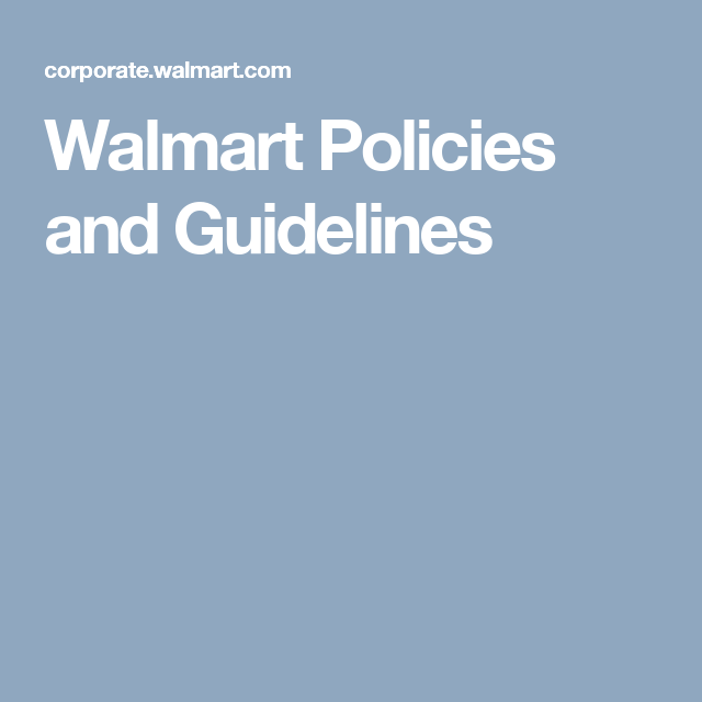 Walmart Policies And Guidelines Couponing For Beginners Shopping Coupons Policies