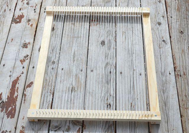 How To Make Your Own Loom Weaving Weave Loom Weaving Loom Diy