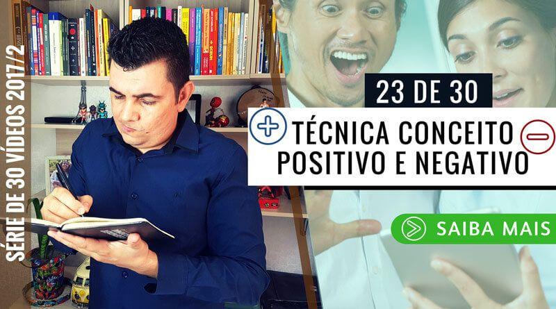 Revelado algo impressionante nesse vídeo: Técnica Conceito Positivo e Negativo que facilita a escrita do TCC, Saiba mais sobre essa nova Técnica de escrita