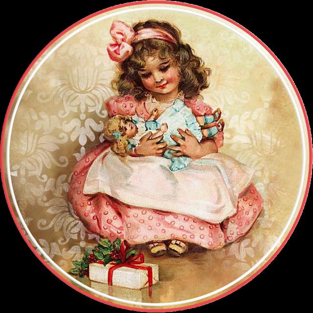 Надписями когда, открытки с днем рождения с куклами старинные