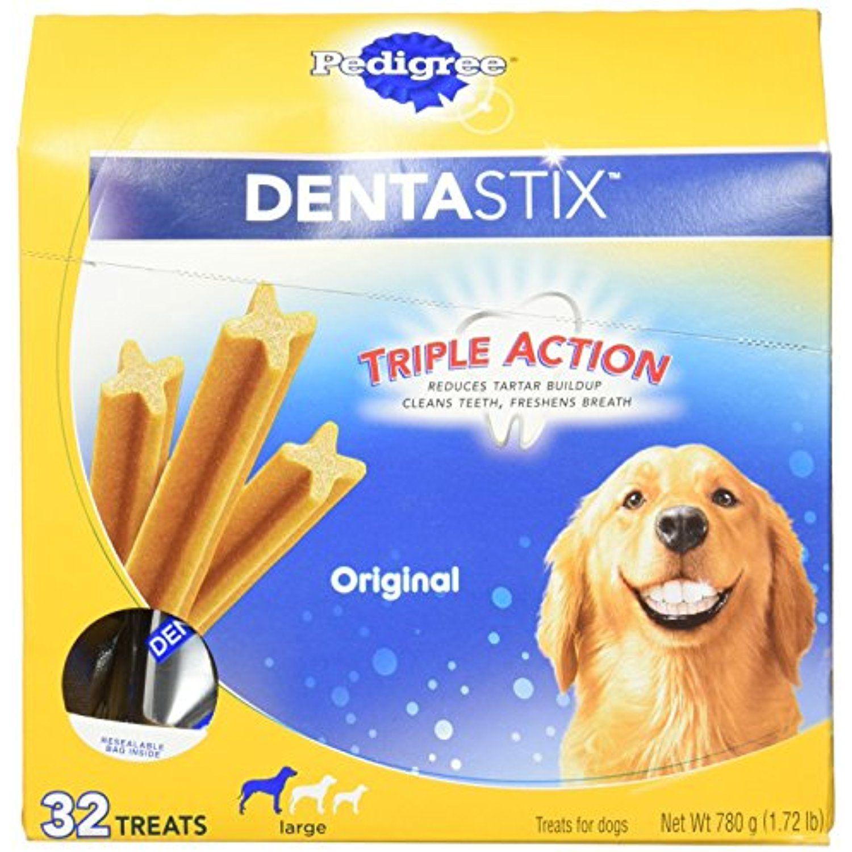 Pedigree Dentastix Large Dog Chew Treats Original 32 Treats You Could Find More Details By Visiting The Image Dog Dental Treats Dog Dental Chews Dog Dental