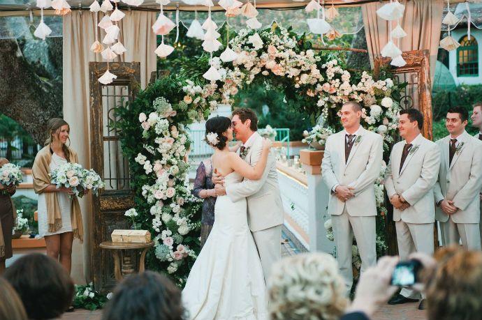 5 DIY wedding ceremony backdrop ideas that wow | Backdrops, DIY ...