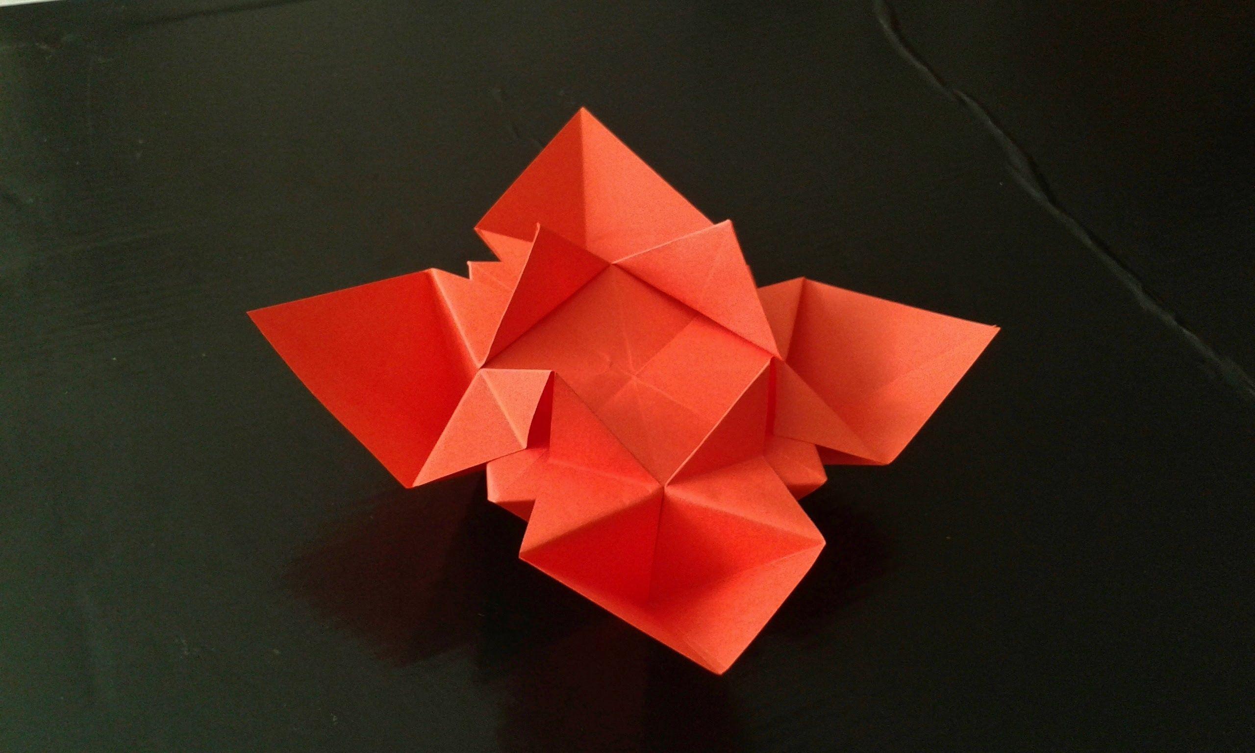 Paper Flower Origami Francesco Guarnieri Origami Pinterest
