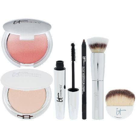 IT Cosmetics Your Most Radiant You 5 Piece Collection, unknown price.  October 18th 2014 QVC TSV, this is a rumor, not positive. #QVC #TSV