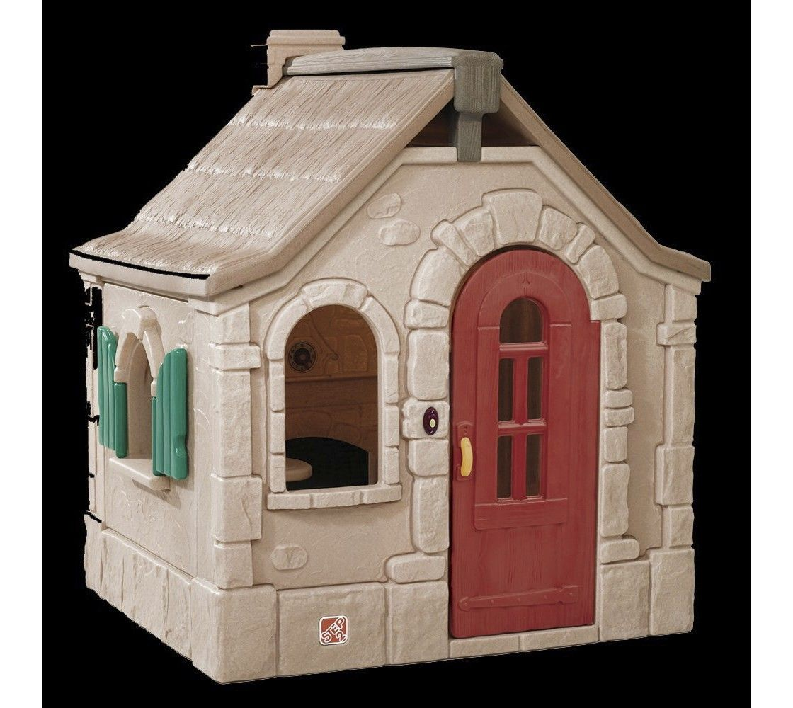 Step2 Storybook Cottage Playhouse Play Houses Storybook Cottage Build A Playhouse