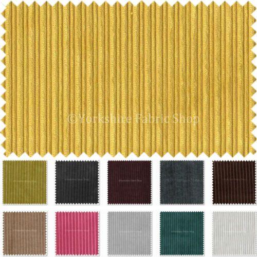 Thin Stripes Soft Velvet Cord Plain Fabric Upholstery Sofa Curtain Furnishings Cord