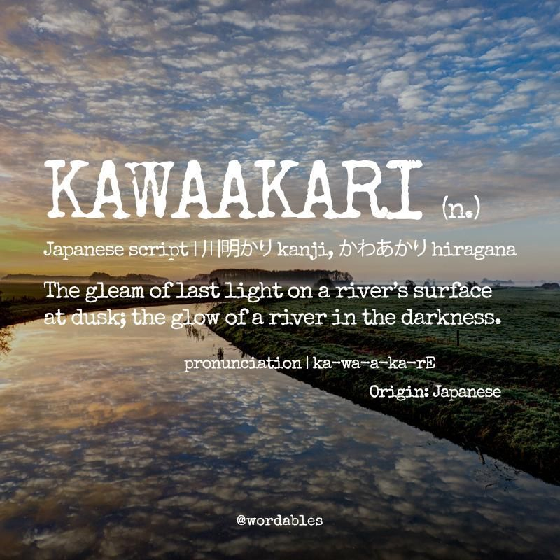 7 Beautiful Words Only Nature Lovers Will Understand Unusual Words Nature Words Words