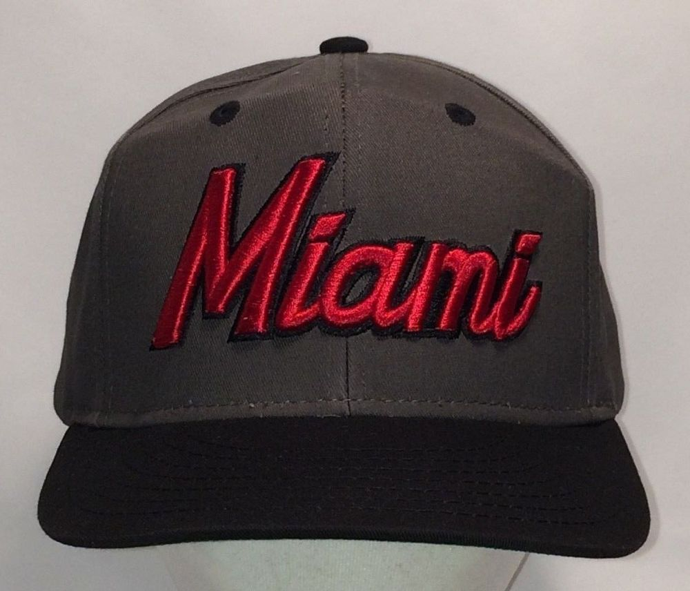 e412cc564bd34 Miami Snapback Hat Florida City Beach Vacation. Find Baseball Caps like  this and 100 s more