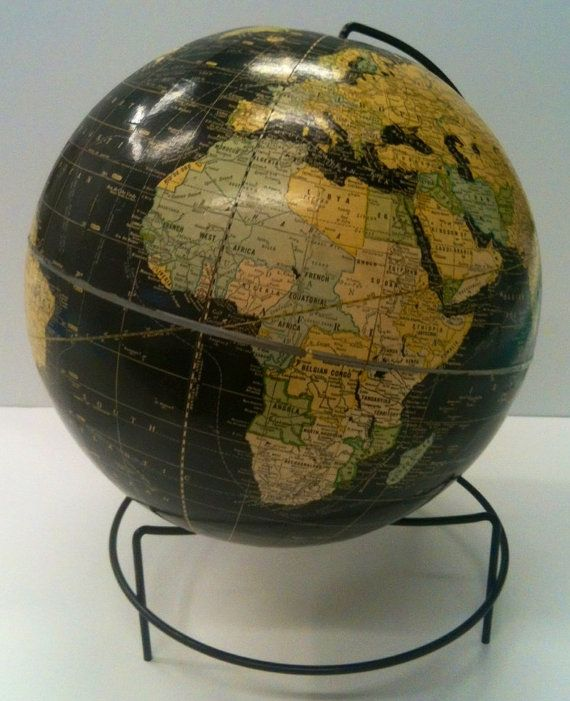 Vintage crams world globe small spot on the globe pinterest ultimate globes specializes in the sale of world globes and maps for the home office and classroom established in our company has grown to become the gumiabroncs Images