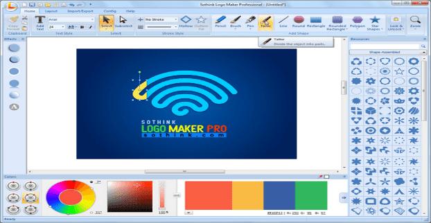 تحميل برنامج تصميم الشعارات Sothink Logo Maker Pro لصناعة لوجو احترافي Logo Maker Free Logo Design Software Logo Maker Software