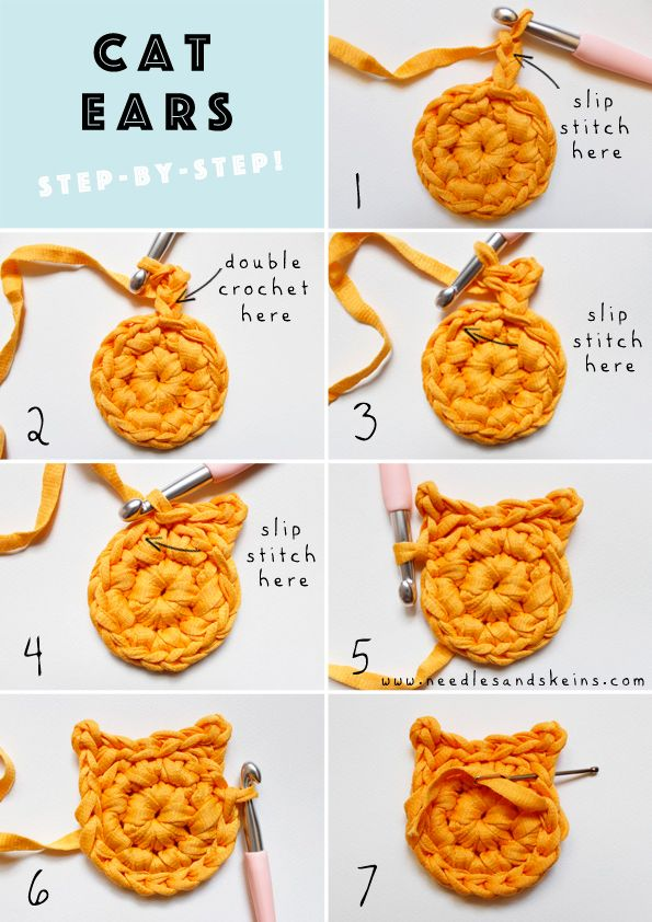 CROCHETED CAT COASTERS… MEOW! // FREE PATTERN + TUTORIAL