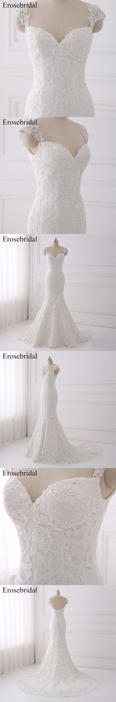 Sexy Illusion Wedding Dress 2018 Erosebridal A Line Bohemian Wedding Dresses  Zipper Back Elegant Sweetheart Vestido 46adbf69b23a