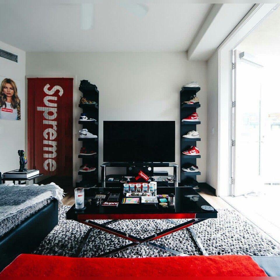 Full Of Hypebeast Room Supreme Bedroom Ideas