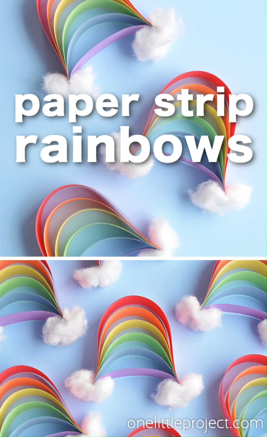 Photo of How to Make Paper Strip Rainbows
