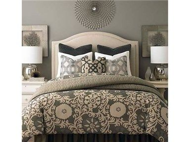 Shop For Bassett King Vienna Upholstered Bed Vienna King