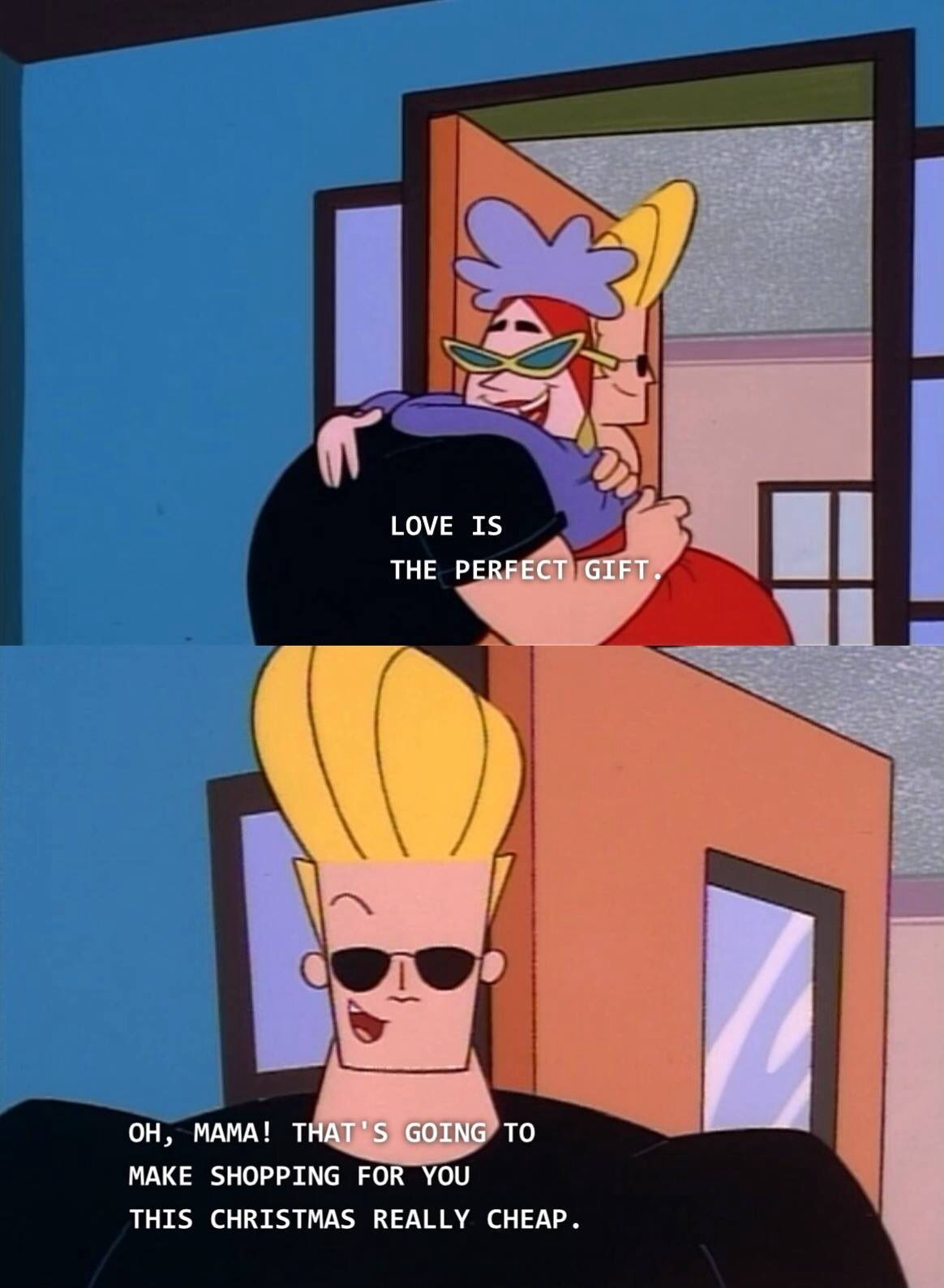 Merry Christmas from Johnny Bravo! | Ahhh Nostalgia | Pinterest ...