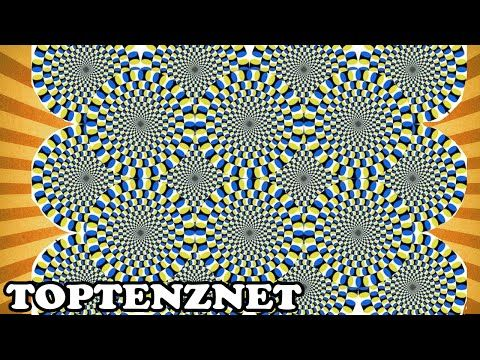 Top 10 Incredible Optical Illusions That Will Mess With Your Brain — TopTenzNet - YouTube