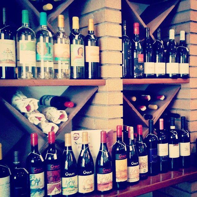 Enoteca Ristorvip, a Ragusa. #Vini #Gulfi #Wine #WineLovers