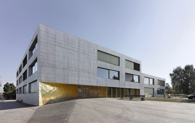 Orientierungsschule by Morscher Architekten (Kerzers, Switzerland) #architecture