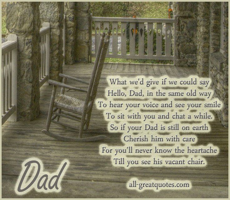 In Memory Dad Parent Daddy: Memories Of Father Quotes