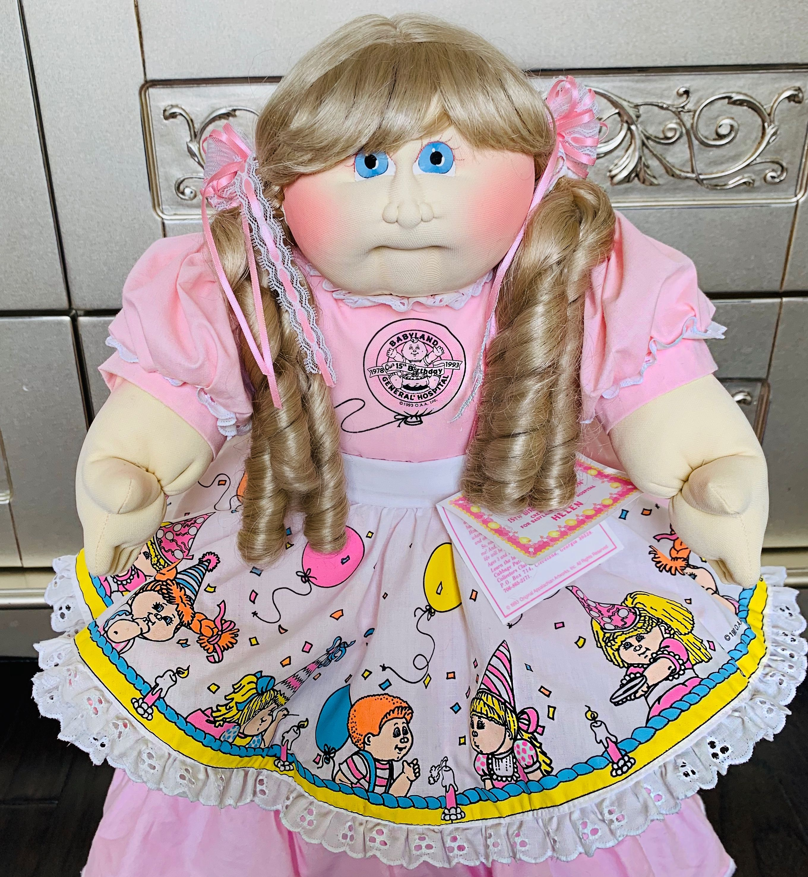 15th Anniversary Cabbage Patch Babies Cabbage Patch Kids Dolls Cabbage Patch Kids