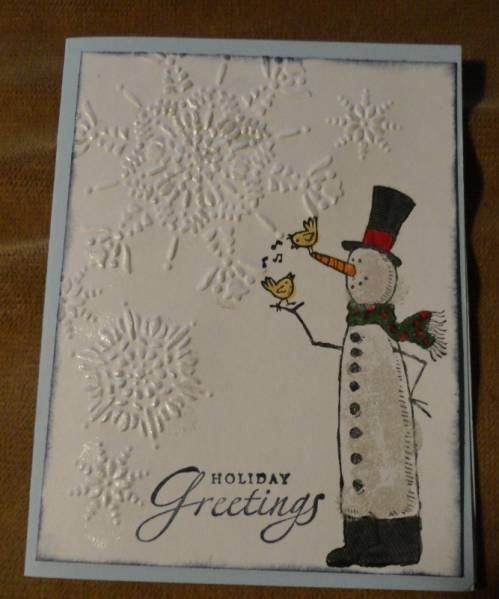 August Christmas Card #2 Class by DebbieB - Cards and Paper Crafts at Splitcoaststampers