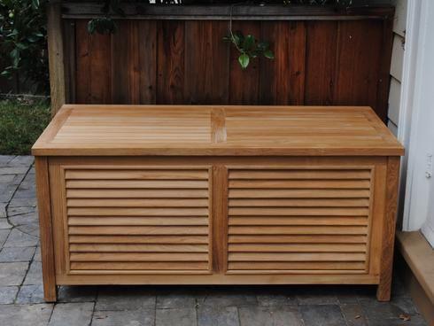 Storage Box Paradise Teak Outdoor Storage Bench Storage Teak