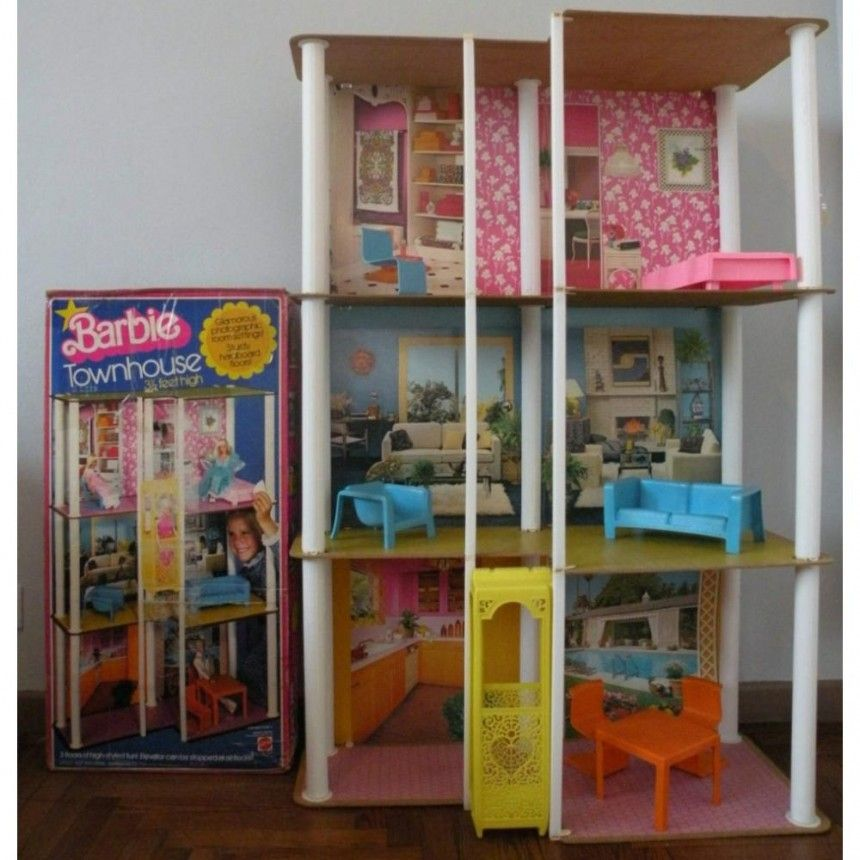 Amy vermillion interiors blog vintage barbie old school for Elevator townhomes