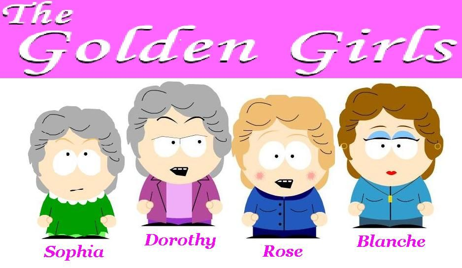 Golden Girls at South Park by Kyleniebob