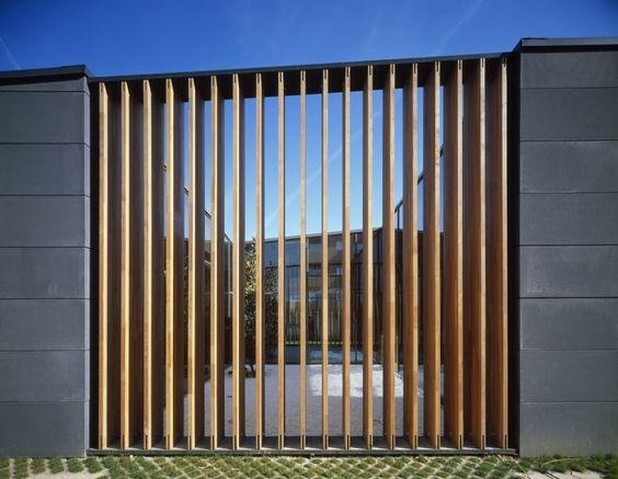 Zaragoza Vertical Blind Like Facade Architecture Design