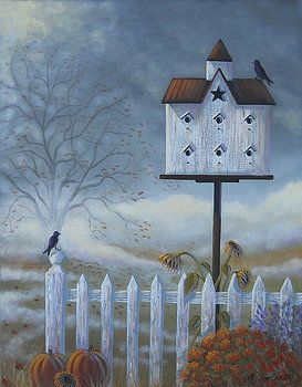 Autumn Air by Mary Charles. I can almost feel the damp, cool morning air :)