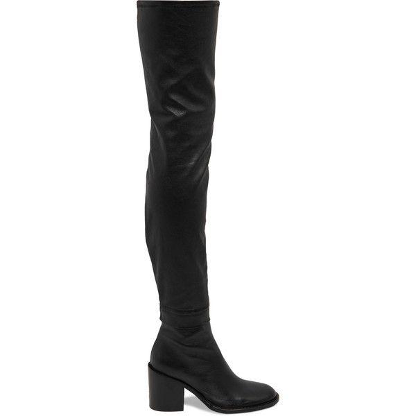 Ann Demeulemeester Metallic Knee-High Boots discount with mastercard official online fdRxW5t7