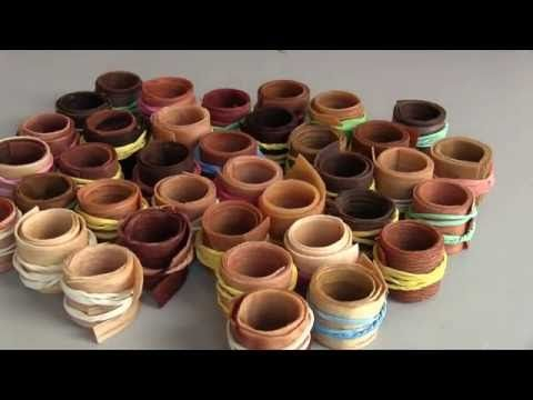 What wood is best for wood rings how to make wooden rings for Wood veneer craft projects