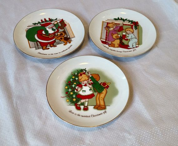 Unique Antique Christmas Plates by J.S.N.Y. by CatHouseAntiques & Unique Antique Christmas Plates by J.S.N.Y. by CatHouseAntiques | My ...