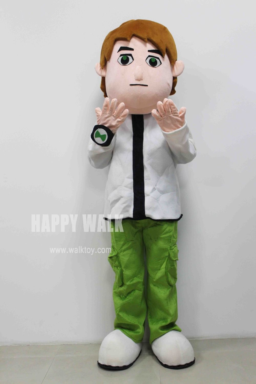 click to buy << ben10 mascot costume stupid boy mascot costume adult