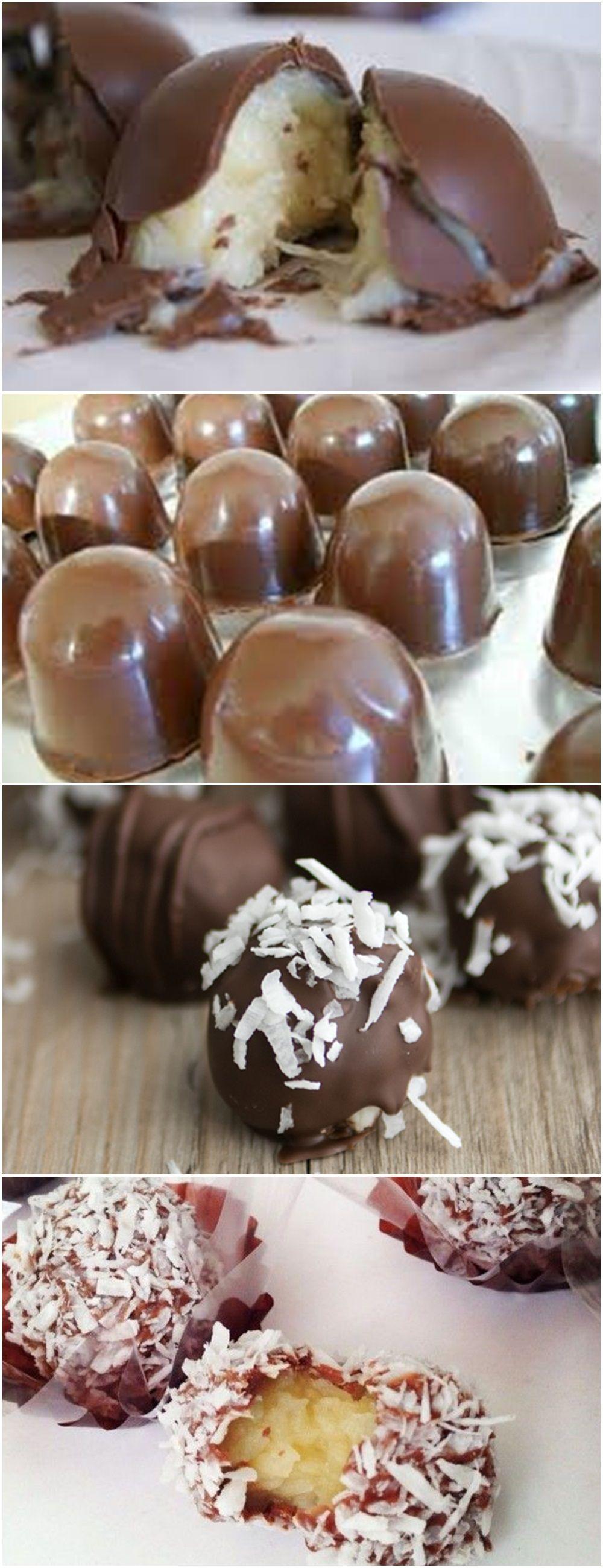 Aprenda A Fazer Essa Deliciosa Trufa Com Recheio De Coco
