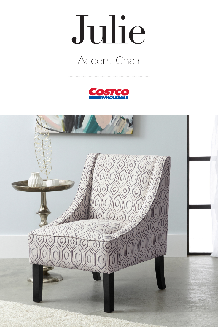 Accent Chairs At Costco The Julie Accent Chair Brings A Touch Of Refined Modern
