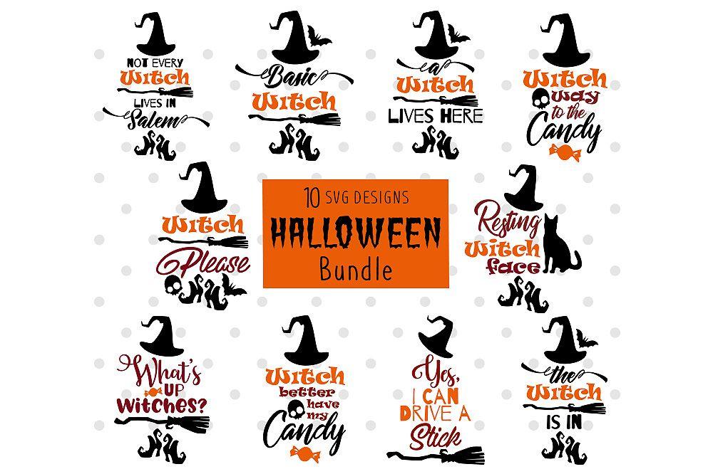 Halloween Bundle Graphic By Danieladoychinovashop Halloween Photography Portfolio Template Dxf