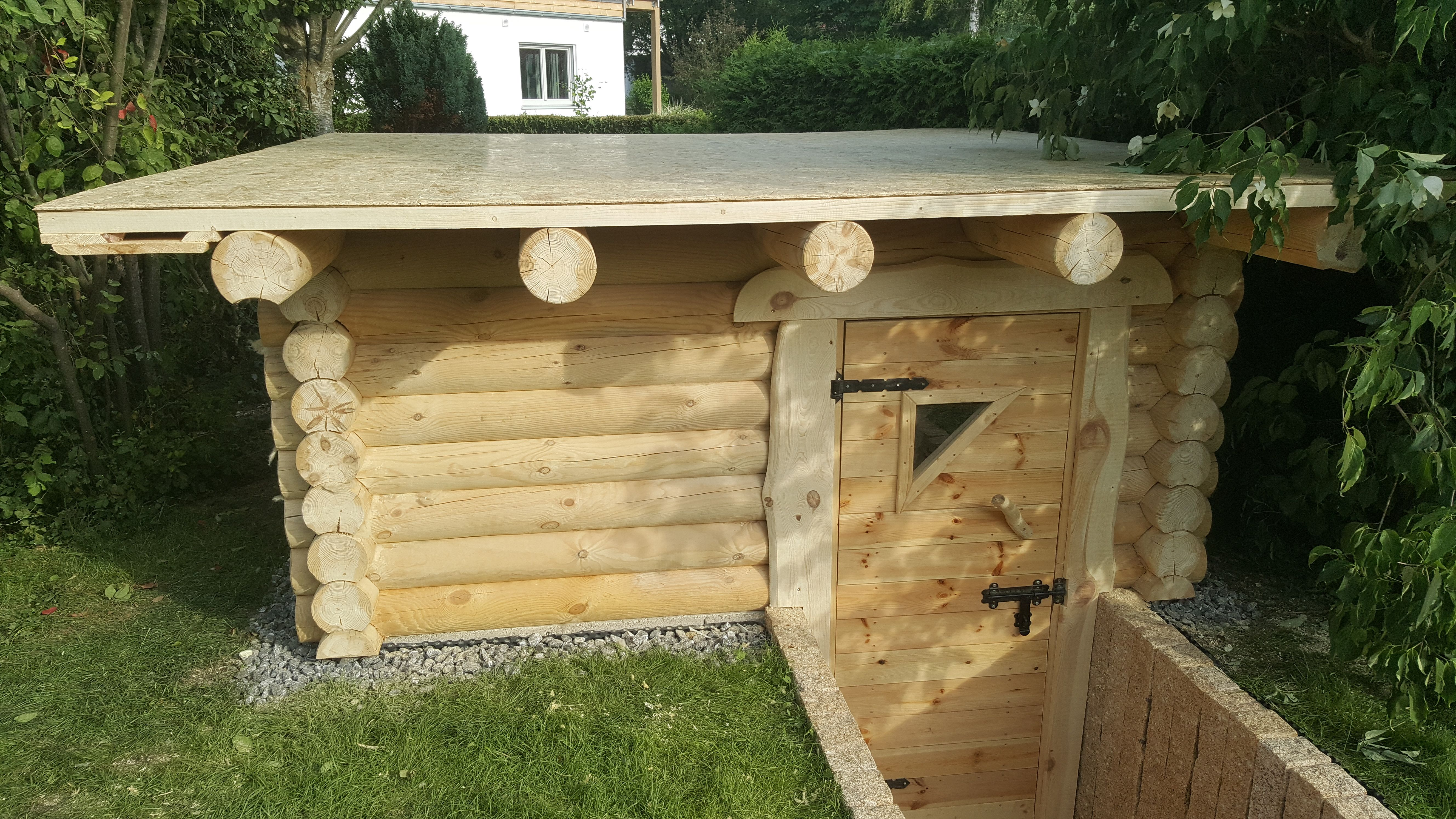 Sauna Selber Bauen Garten
