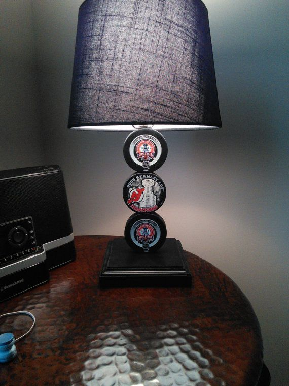 Combine This Puck Lamp With A Scoreboard Shade