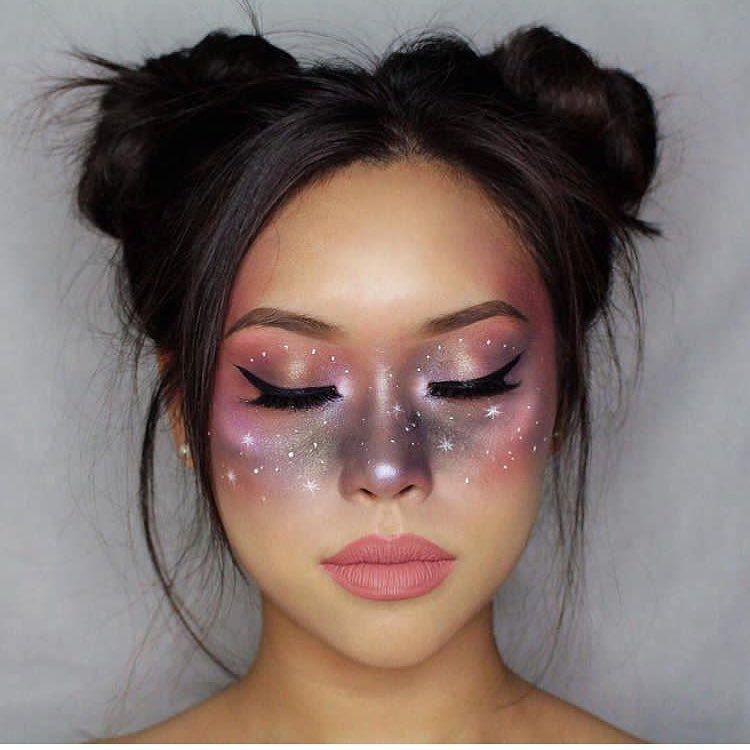 Ongekend Et si pour Halloween on tentait un make up (discret) galaxy TI-75