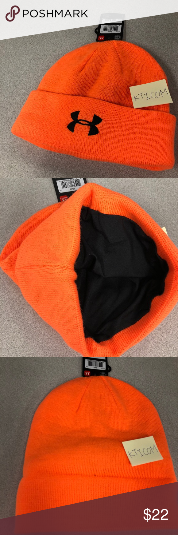 724c454fc2959 New Under Armour Men s Tactical Stealth Beanie NWT