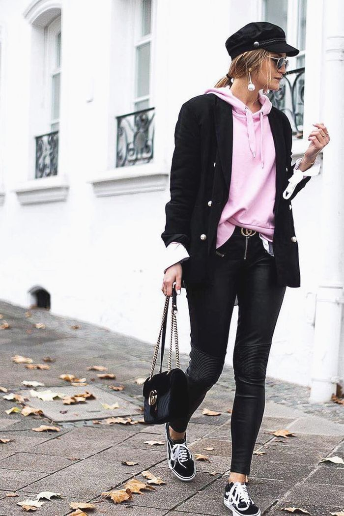 1a3a2060d7 This one layering trick makes any outfit that much cooler. See how our  amazing Who What Wear readers are showing us how it s done.