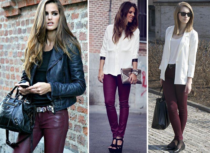 068f64a6fb5b2 Como usar calça vinho  - Claudinha Stoco - Blog de beleza