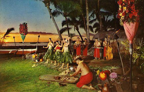 postcard - Kona Inn