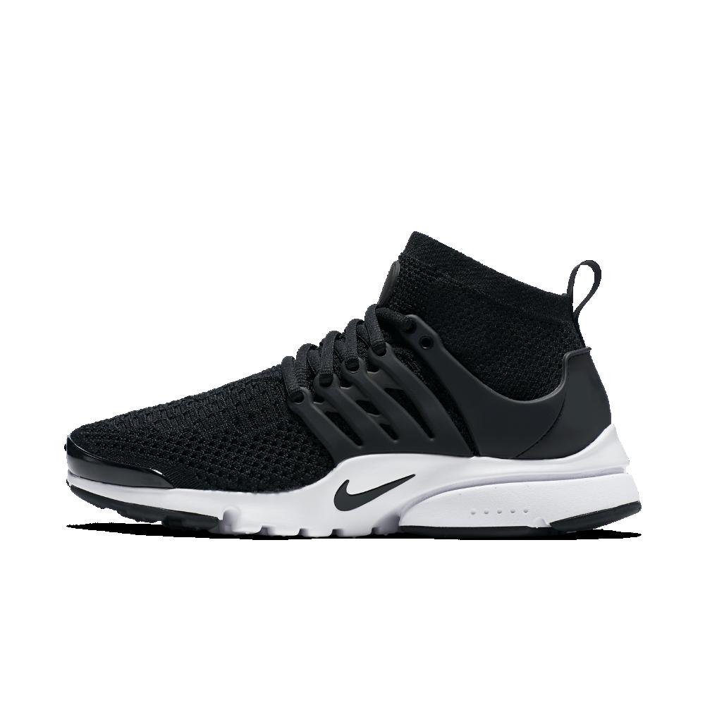 sale retailer d9b29 bdb9c Nike Air Presto Ultra Flyknit Women s Shoe Size 6.5 (Black)