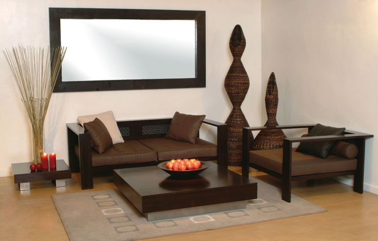 Modern Furniture with its Sophisticated Look Ethnic Living Room