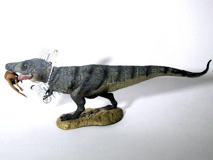 CollectA Dinosaur TRex with Prey Toy Animal Replica